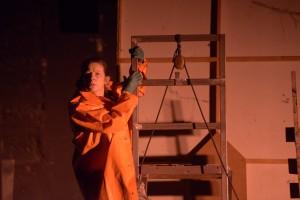 Anne Ferret - Hamlet Machine - Photo PierreGrange